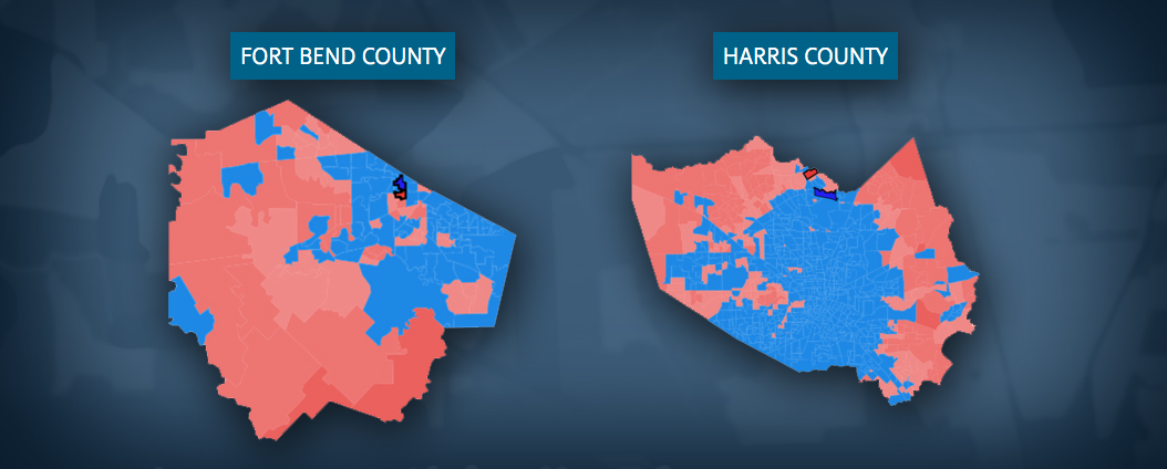 Harris County Fort Bend County Maps