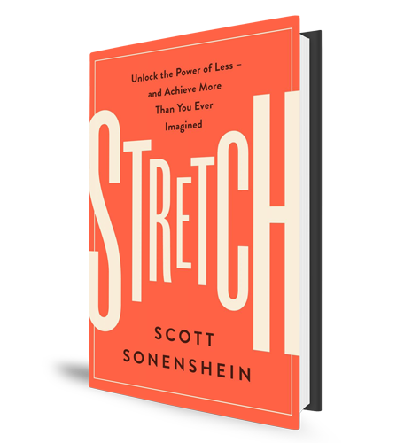 Stretch - Unlock the Power of Less - Book Cover