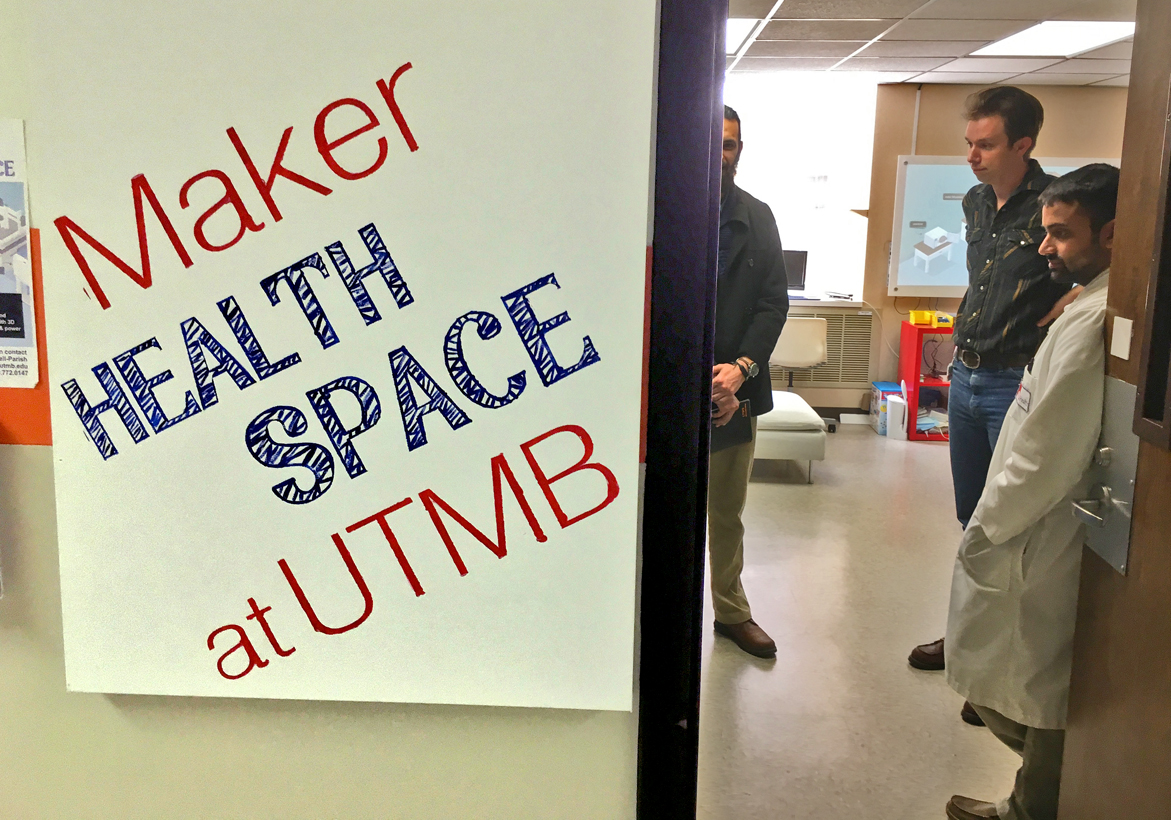 A Look Inside the MakerHealth Space at UTMB
