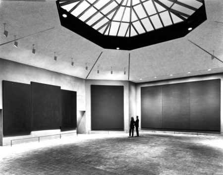 Rothko Chapel, Interior, 1971