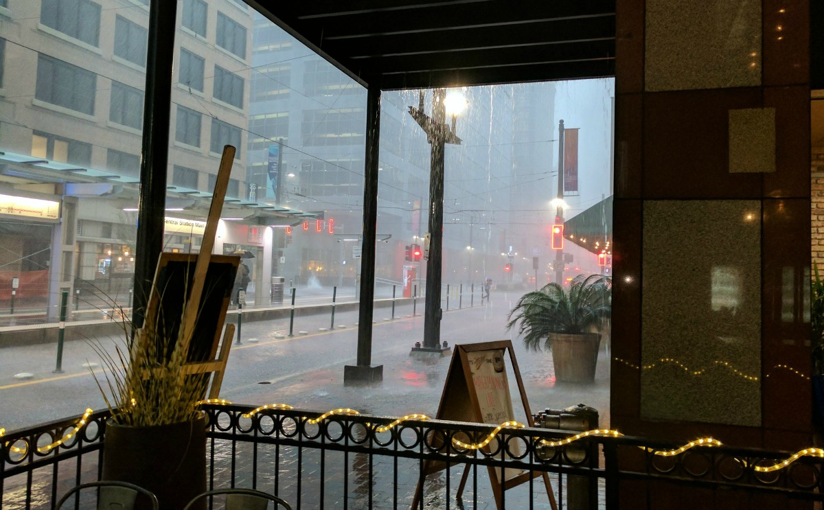 Heavy Rains Downtown - GDelaughter