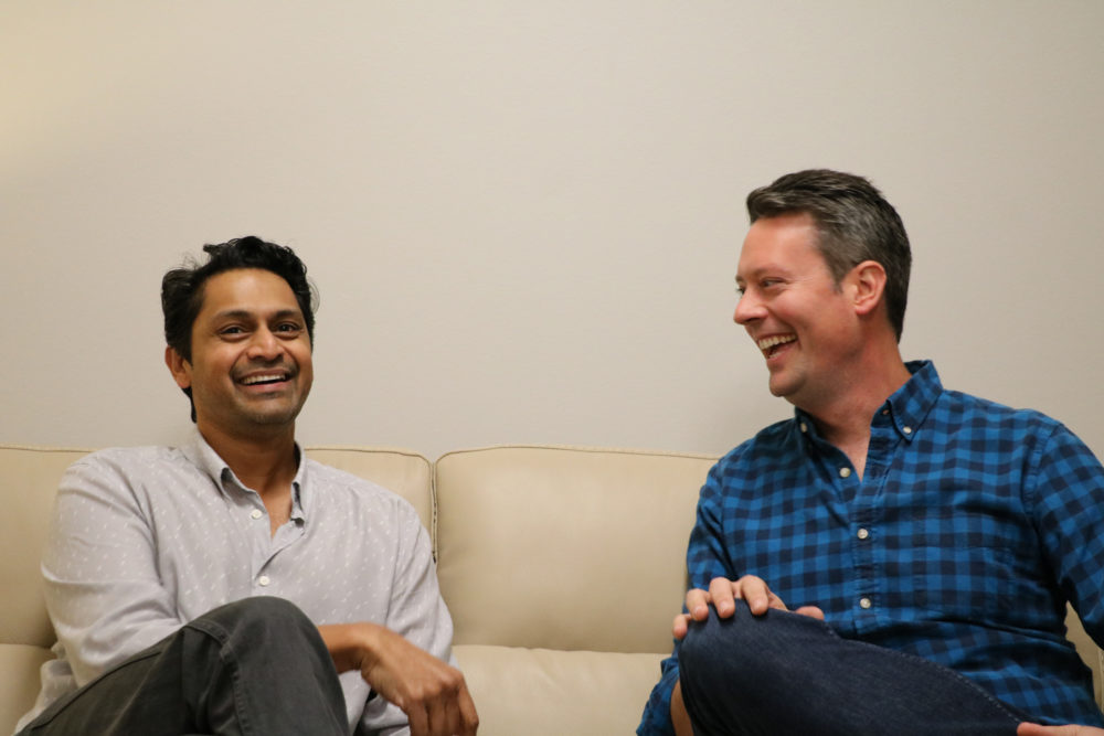 Party Politics hosts Jay Aiyer and Brandon Rottinghaus