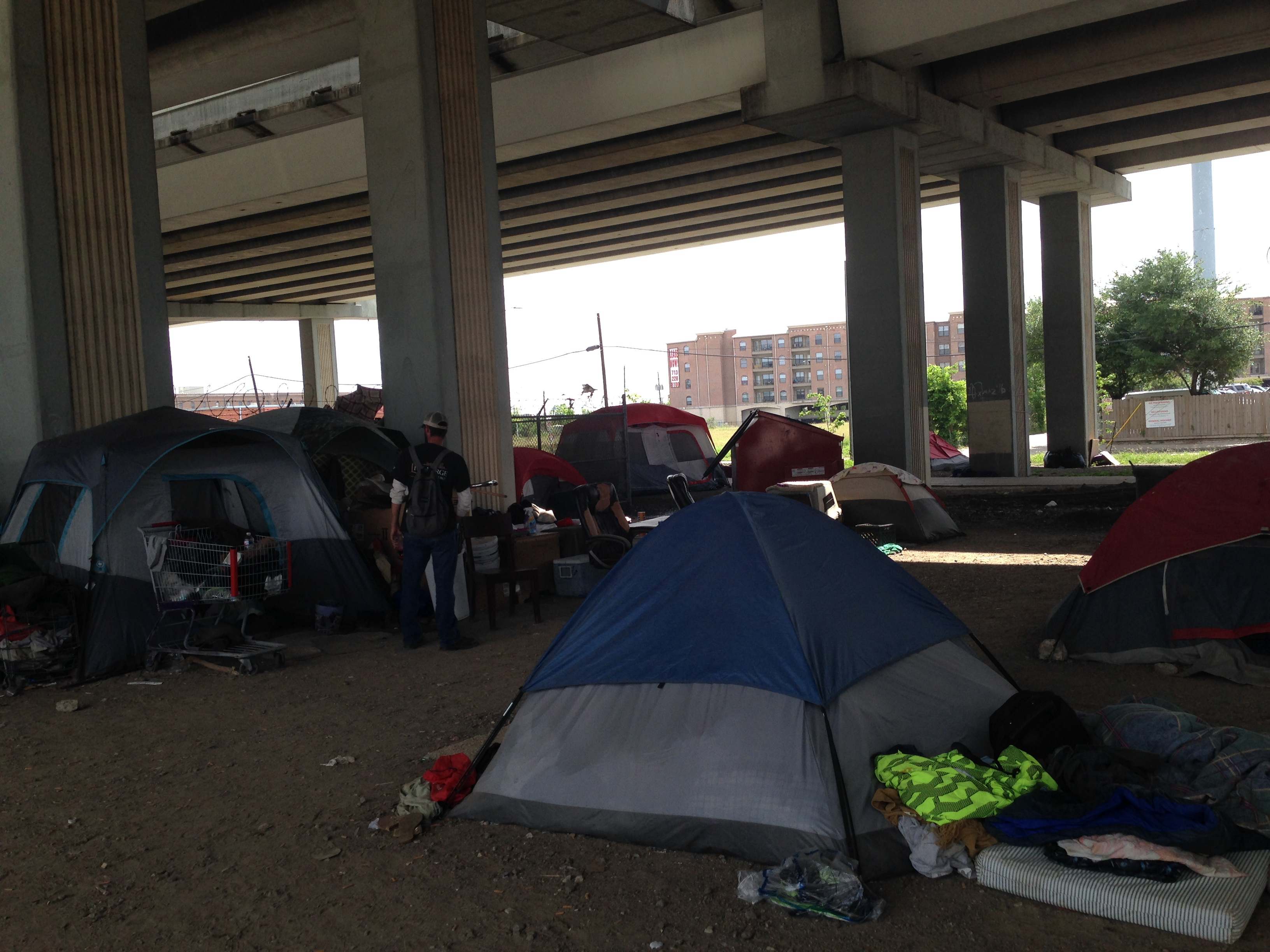 Boost Near Me >> Houston's Ban on Homeless Camps Blocked — For Now – Houston Public Media