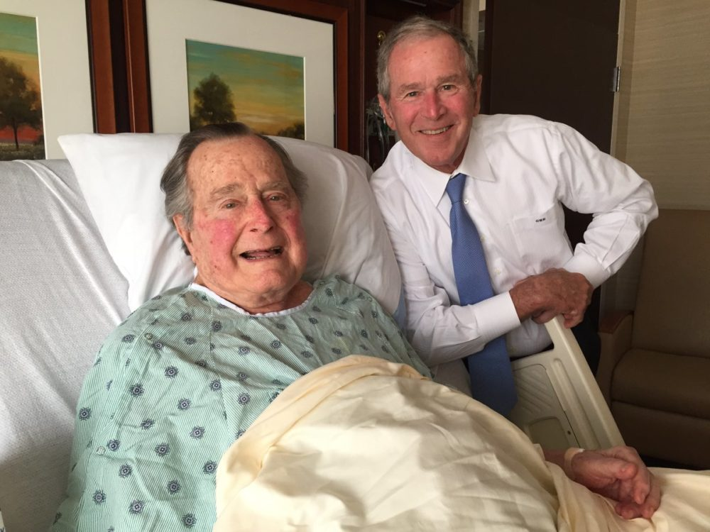 Elder Bush longest living United States ex-president