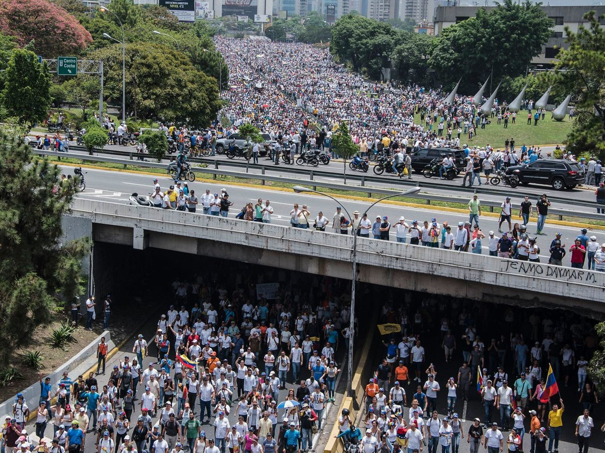 Venezuelan Protest - Getty Images