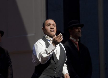 Larry Brownlee in La Cenerentola at the Metropolitan Opera