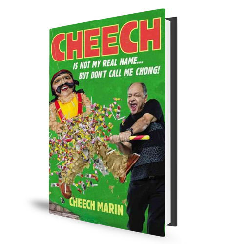 Cheech Marin Book Cover
