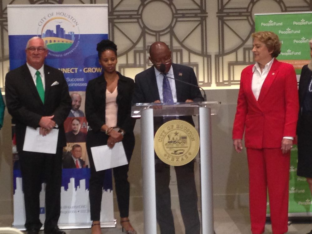 Houston Mayor Sylvester Turner announced 'Innovation Week' on April 19th after the City Council weekly meeting and underscored it is a good opportunity for local small businesses and also for Houstonians that want to start one.