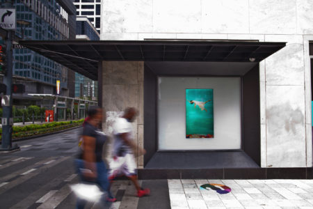 Sidewalk Cinema - Color Play, installation view