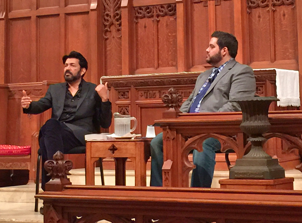 Siddhartha Mukherjee and Michael Hagerty