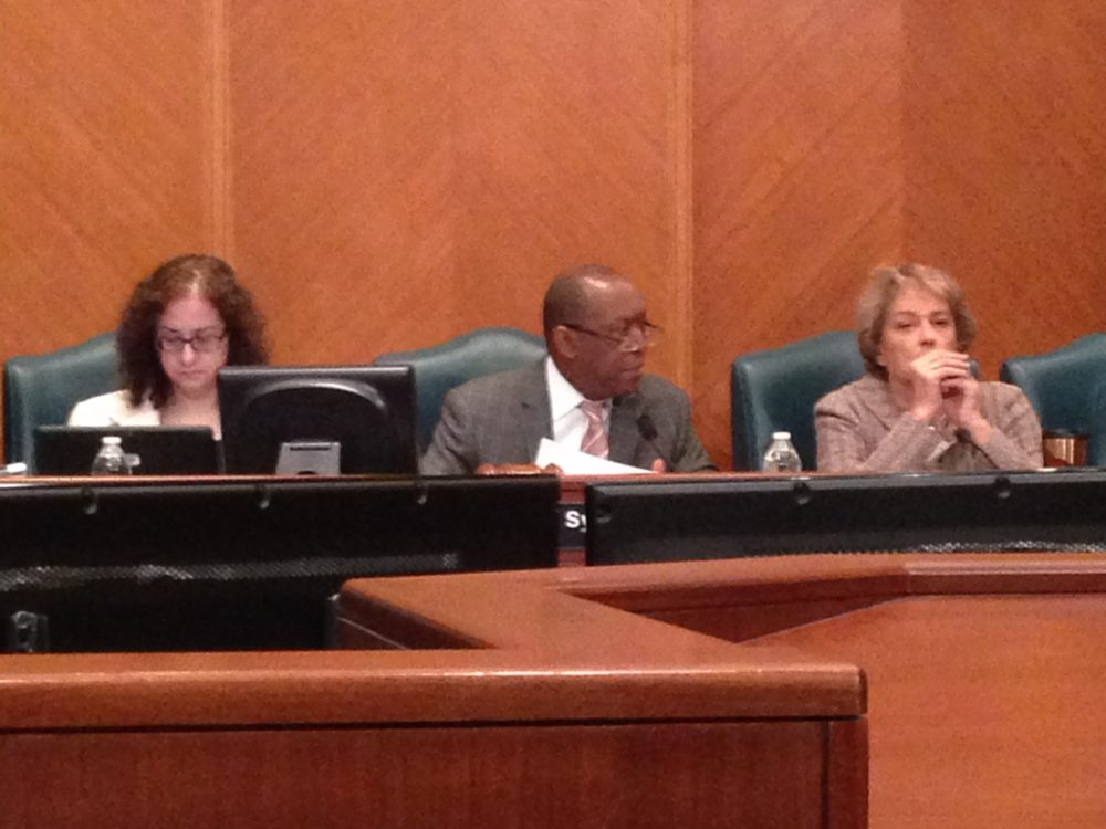 Marta Crinejo, Agenda Director for the City of Houston; Sylvester Turner, Mayor; and Ellen Cohen, Mayor Pro-Tem attended the Council meeting held on May 10th 2017.