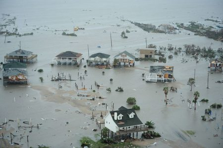 Airmen conduct search and rescue - Galveston Island, Texas, after Hurricane Ike Sept. 13, 2008.