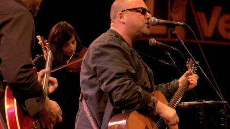 Pixies at their World Cafe Performance