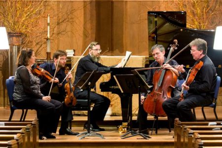 Piano quartet for St. Cecilia Chamber Music Soceity