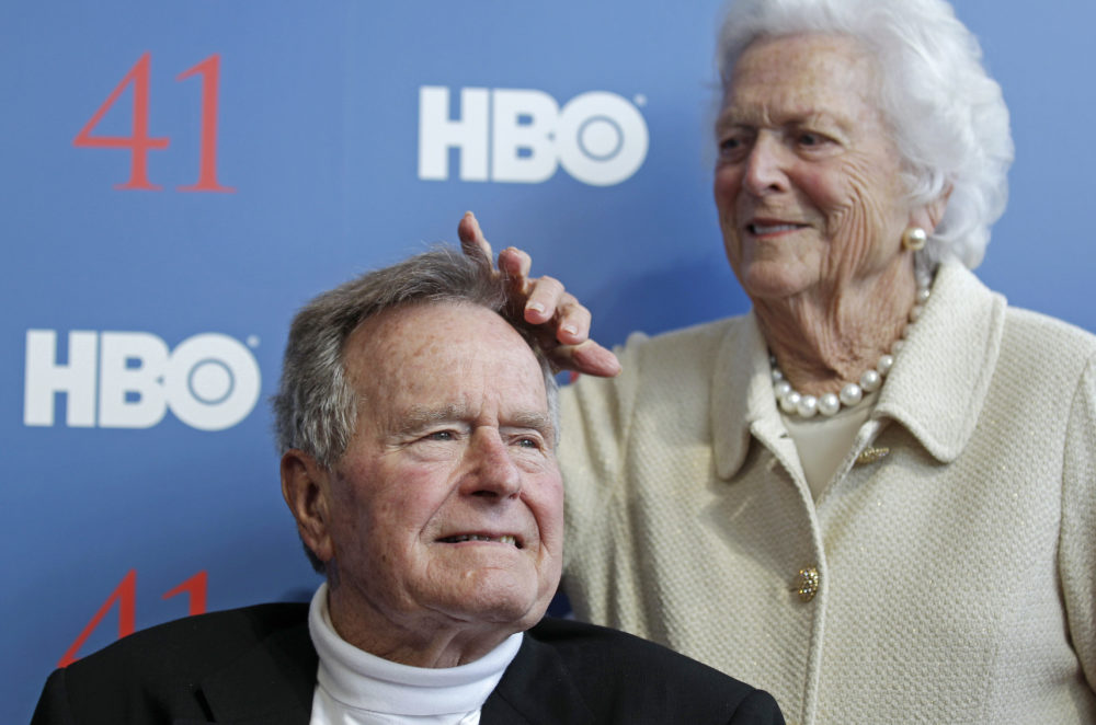 George HW Bush tweets sweet birthday message to his wife