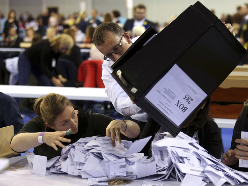 Conservatives Lose Majority In UK Snap Election