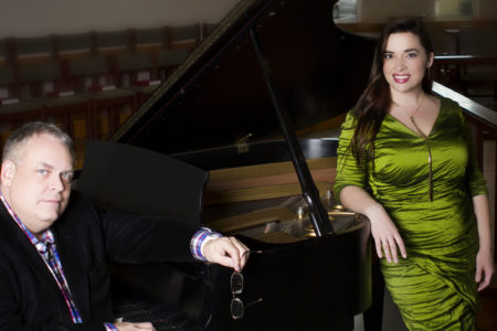 Soprano Julia Fox with pianist Keith Weber