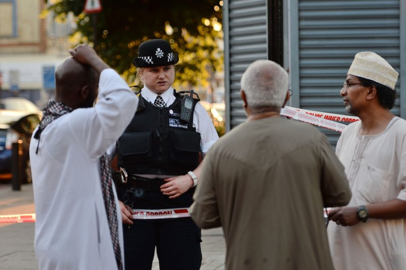 Pedestrians struck by vehicle in London; police report several casualties