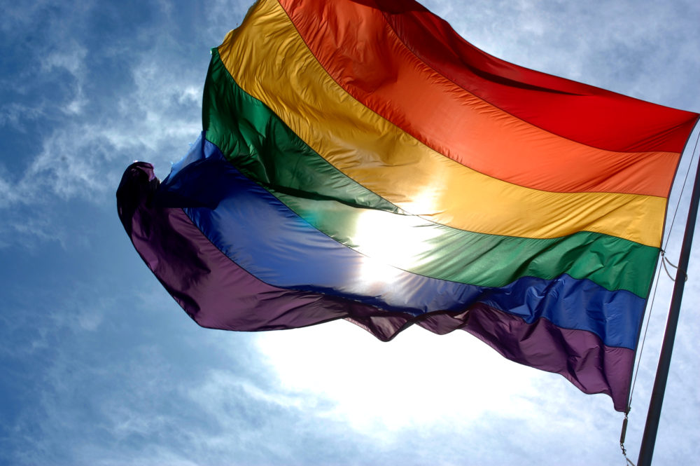 The rainbow flag is a symbol of lesbian, gay, bisexual, and transgender (LGBT) pride and LGBT social movements in use since the 1970s.