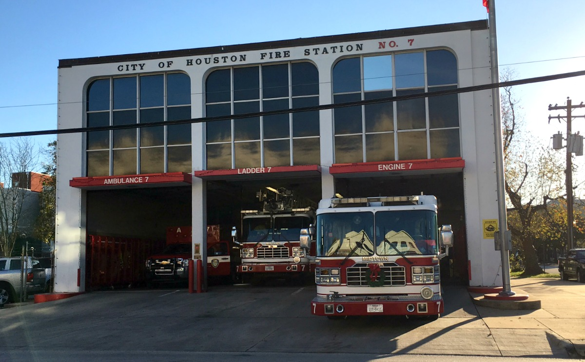 Fire Station - Houston Fire Department - MHagerty