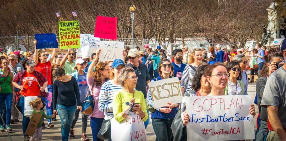 Rally in Support of Affordable Care Act, Washington D.C.