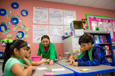 The Raise Your Hand Texas Foundation will manage the scholarship program for future teachers and has already supported stronger teaching in places like Port Isabel.