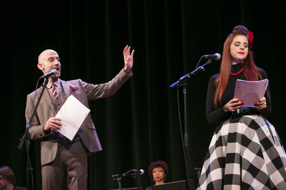 Cecil Baldwin and Meg Bashwiner Welcome to Night Vale