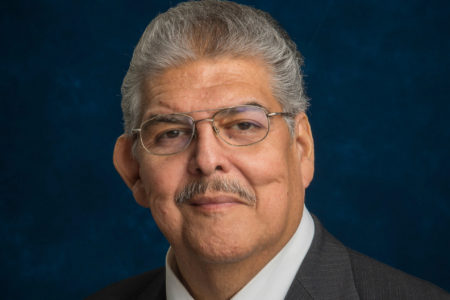 Manuel Rodriguez was first elected to the HISD board of trustees in 2003.