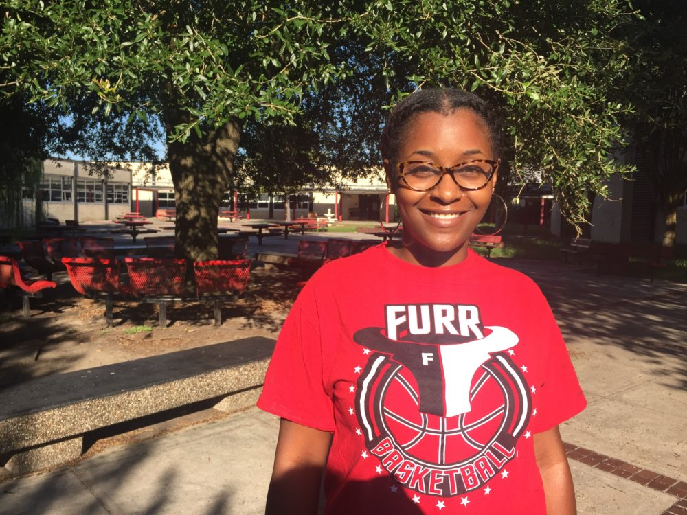 Biology teacher Christian Johnson said that the changes at Furr High will be a challenge for teachers, but she believes they will make