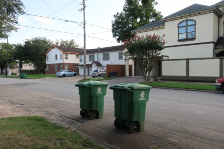 The City of Houston will resume curbside recycling starting November 13th, after a suspension of two and a half months due to post-Harvey debris clean-up operations.