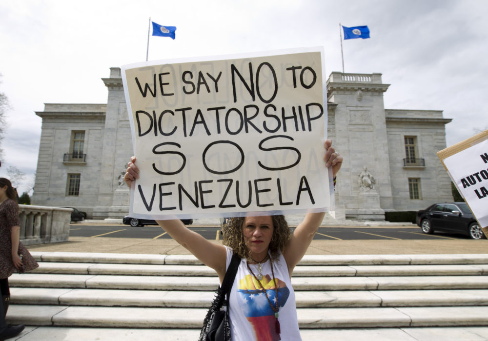 Maduro censures new USA sanctions on Venezuela as 'illegal'