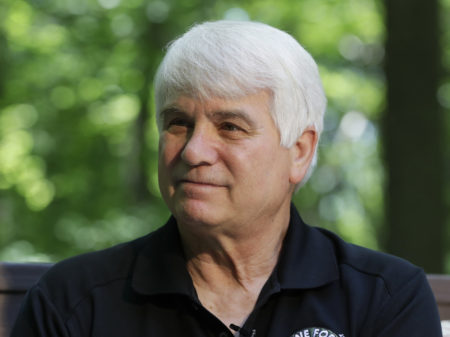 """There is nobody I can think of who's more honorable, more deserving of this award than Doc,"" fellow soldier Bill Arnold said of former Army medic James McCloughan, pictured. McCloughlan receives the Medal of Honor Monday."