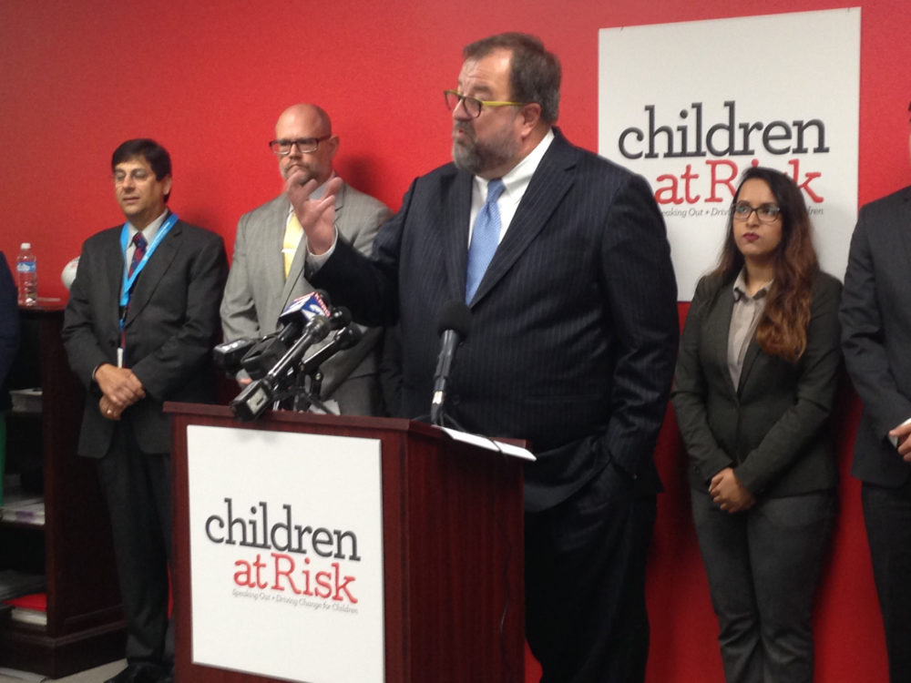 Robert Sanborn, president and CEO of Children at Risk, says Texas could use the state of Kansas as a reference to determine the appropriate funding of the new community based foster care system.