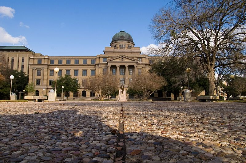 The Academic Building at Texas A&M University