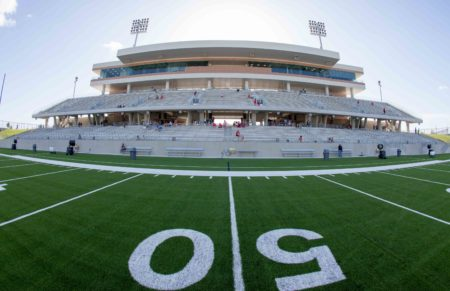 The price tag for the new Legacy Stadium in Katy ISD jumped from $58 million in the 2014 bond package to $72 million.