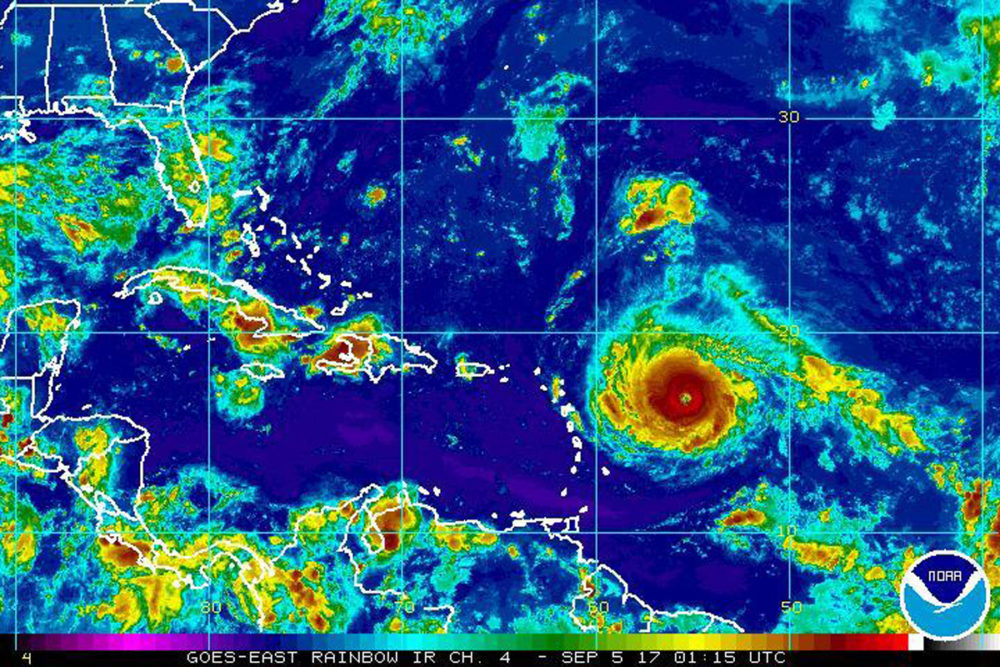 Tropical Storm Jose forms in the Atlantic