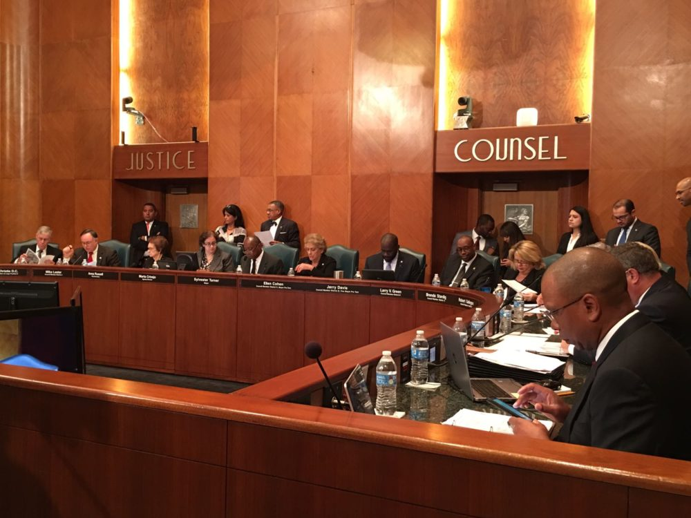 The Houston City Council has approved an agreement with Harris County that will allow its Flood Control District to buy out several houses that got flooded during the Memorial Day flood of 2015.