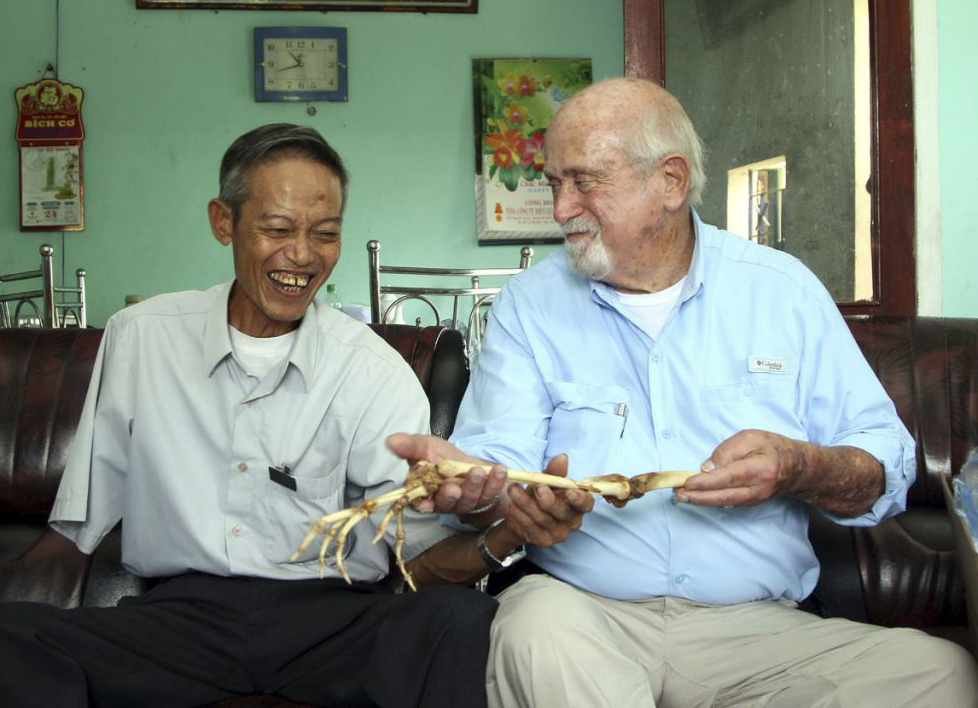 Samuel Axelrad and Hung Nguyen in Vietnam