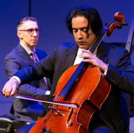 Michael Zuraw, piano and Daniel Saenz, cello