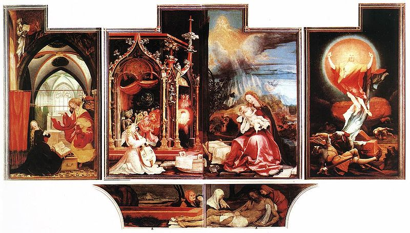 Isenheim Altarpiece by Grunewald