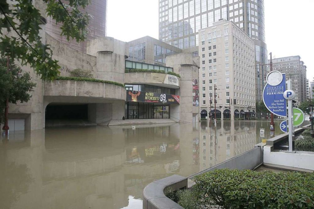 Flooding At The Alley Theatre