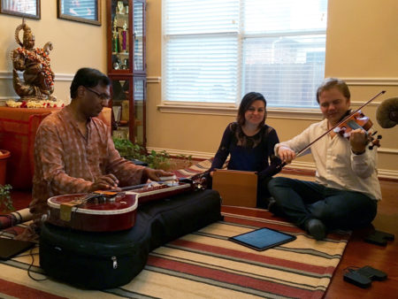 Apollo Chamber Players Rehearsing With Chitravina N. Ravikiran