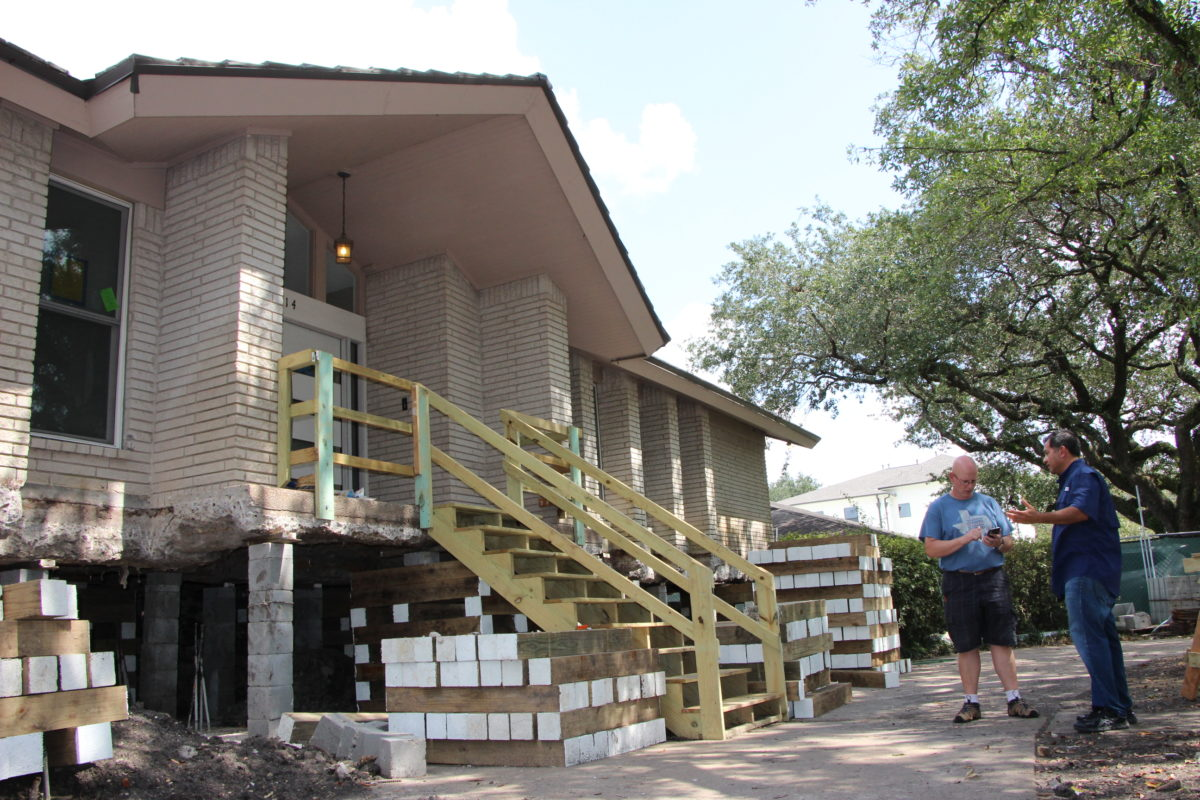 Many houstonians seek home elevation after repetitive for Home elevation houston
