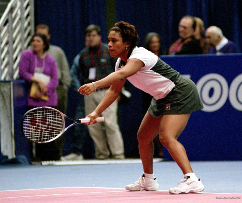 Former Pro Tennis Player Zina Garrison