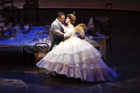 Pre-production photo of La Traviata