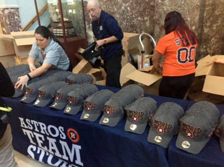 Astros Team Store World Series Hats