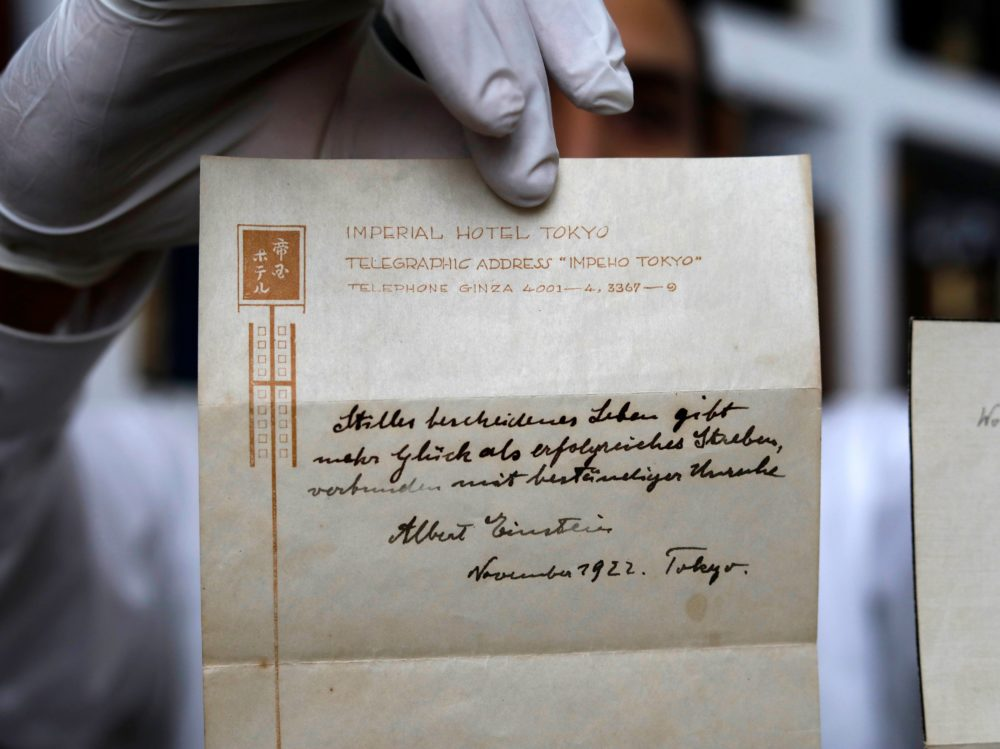 einstein note cards essay First, einstein did not win the 1921 nobel prize in physics for his work on relativity let's back up a little mileva, five ground-breaking papers that.