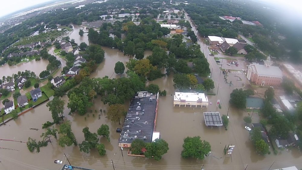 Flooding In Katy - Aerial View