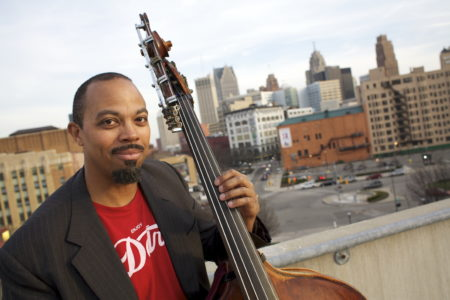 Composer and bassist Rick Robinson in his hometown of Detroit