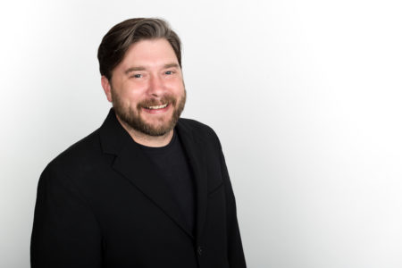 Chad Robinson, Artistic Director for the Texas New Music Ensemble